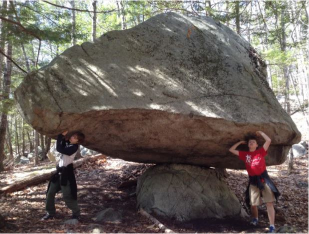 Balancing Rock Orris Falls conservation Area