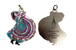 The 2011 medal – Folklorico Dancer (Sold Out)
