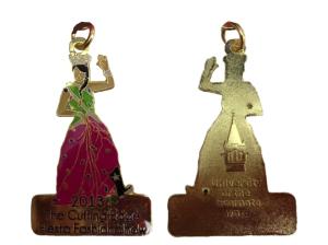 The 2013 medal – Fiesta Duchess