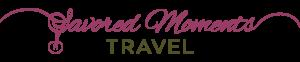 Savored Moments Travel Logo Dark