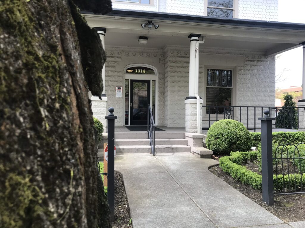 A welcoming entrance into Benson Law Office in Vancouver WA