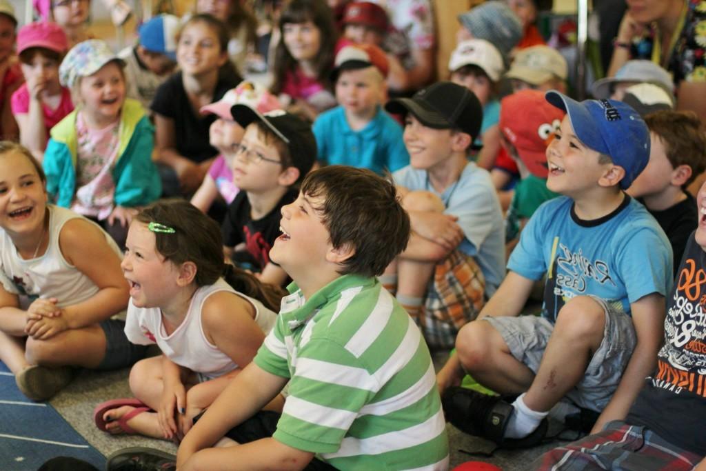 Kids ALWAYS laugh at Peter Mennie and his Magic Show