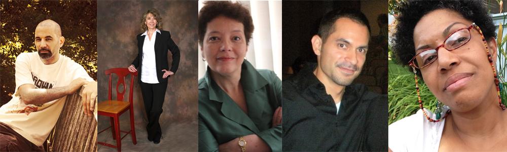 l to r: Emmanuel Ortiz, Lucrecia Guerrero, Elizabeth Marino, Paul Martínez-Pompa, Teresa Vázquez