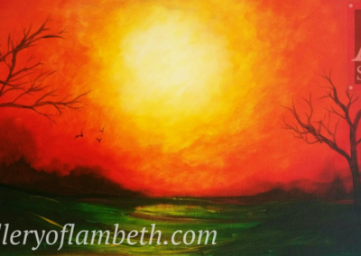 Midday Sun Painting