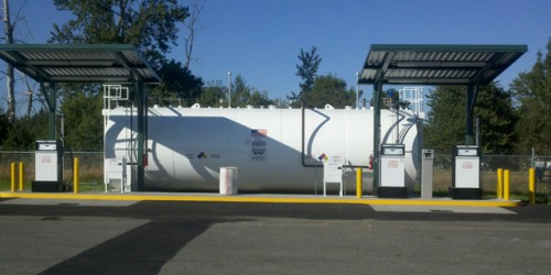 Heating Oil Tank removal in Portland, OR