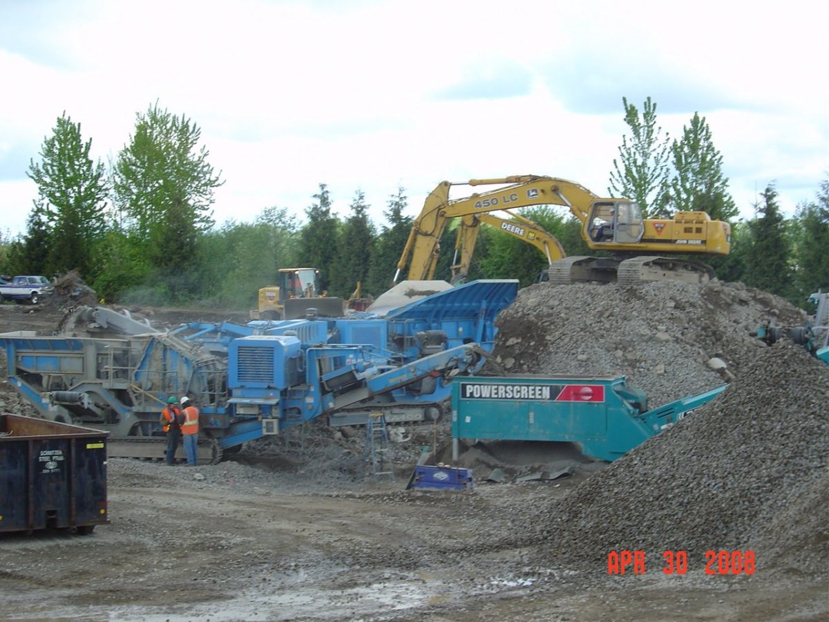 Crushing Services in Salem, OR