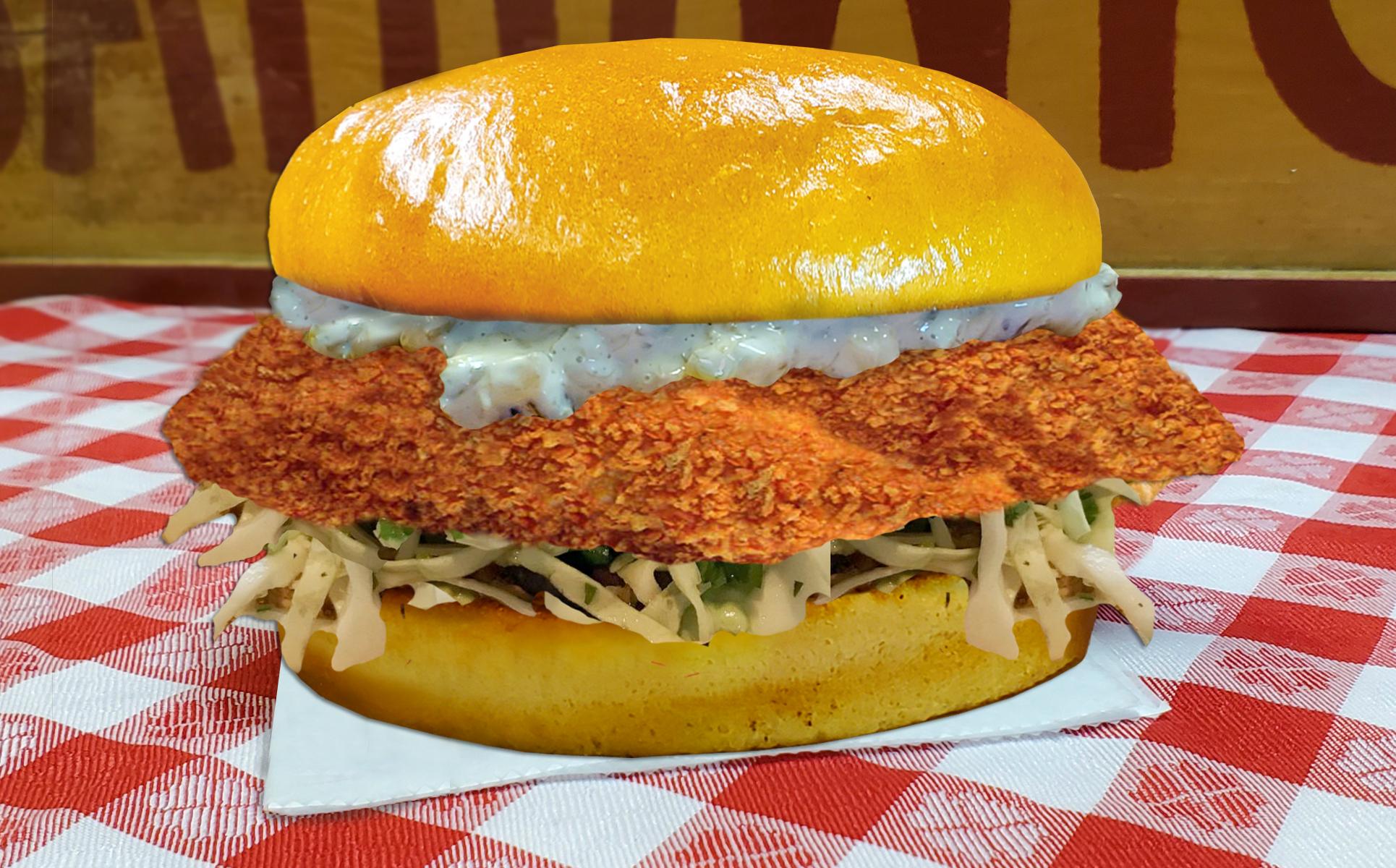 Far Land Provisions Crispy Fish Sandwich