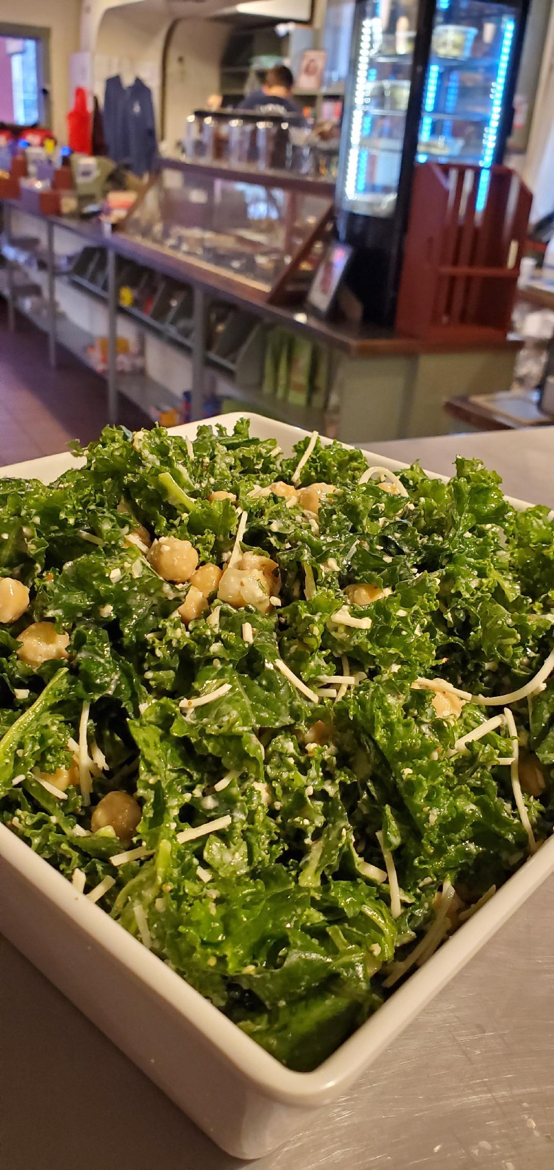 Far Land Provisions Kale Chickpea Salad