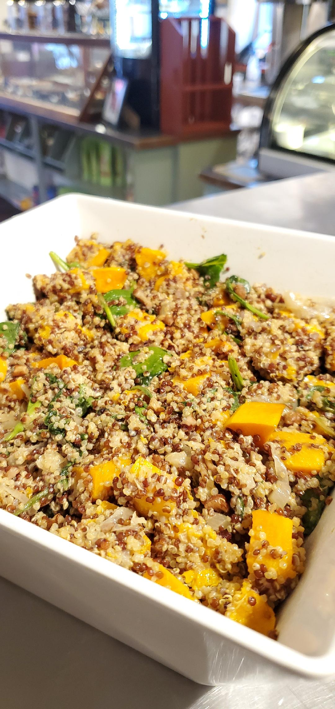 Far Land Provisions Quinoa Butternut Squash Salad
