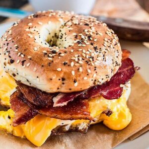 Bacon Egg & Cheese Bagel