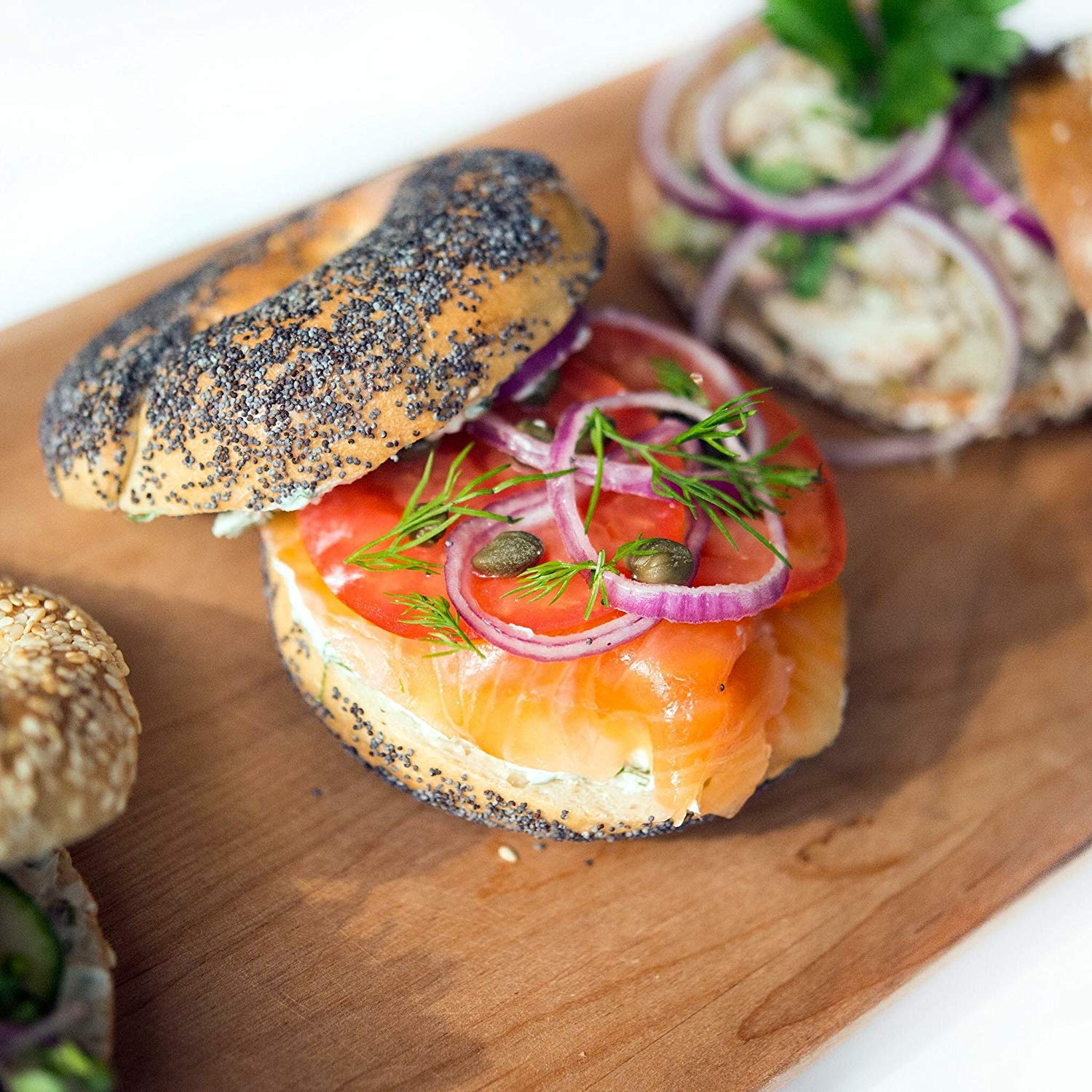 Salmon Special Bagel