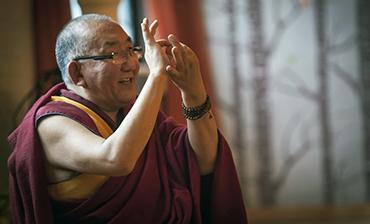Rinpoche slide show