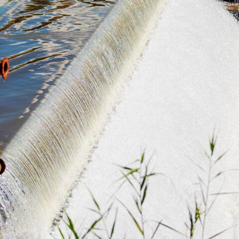 Weir at Middle Kruisvallei