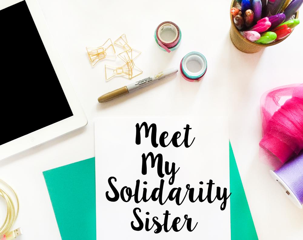 Solidarity Sister, Blogging