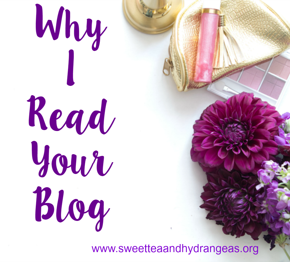 Why I Read Your Blog