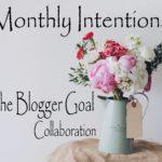 September Goals/Intentions