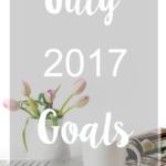 July 2017 Goals