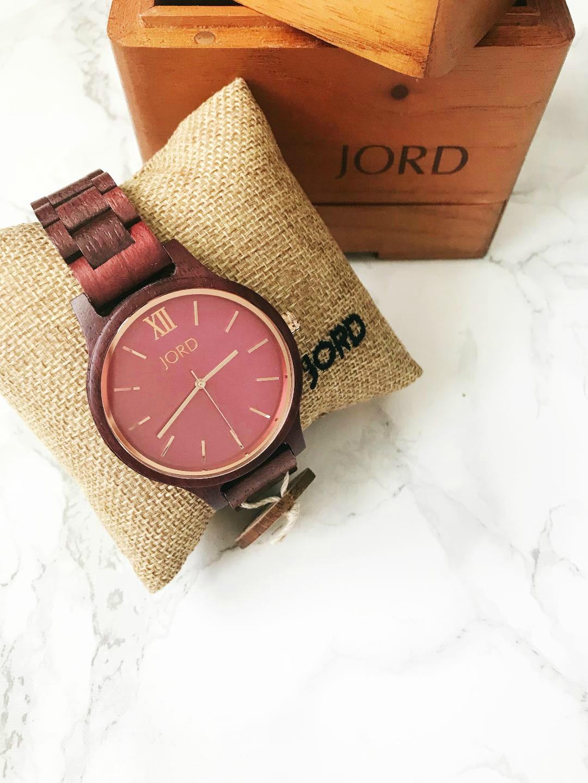 Jord Watch Purpleheart & Plum