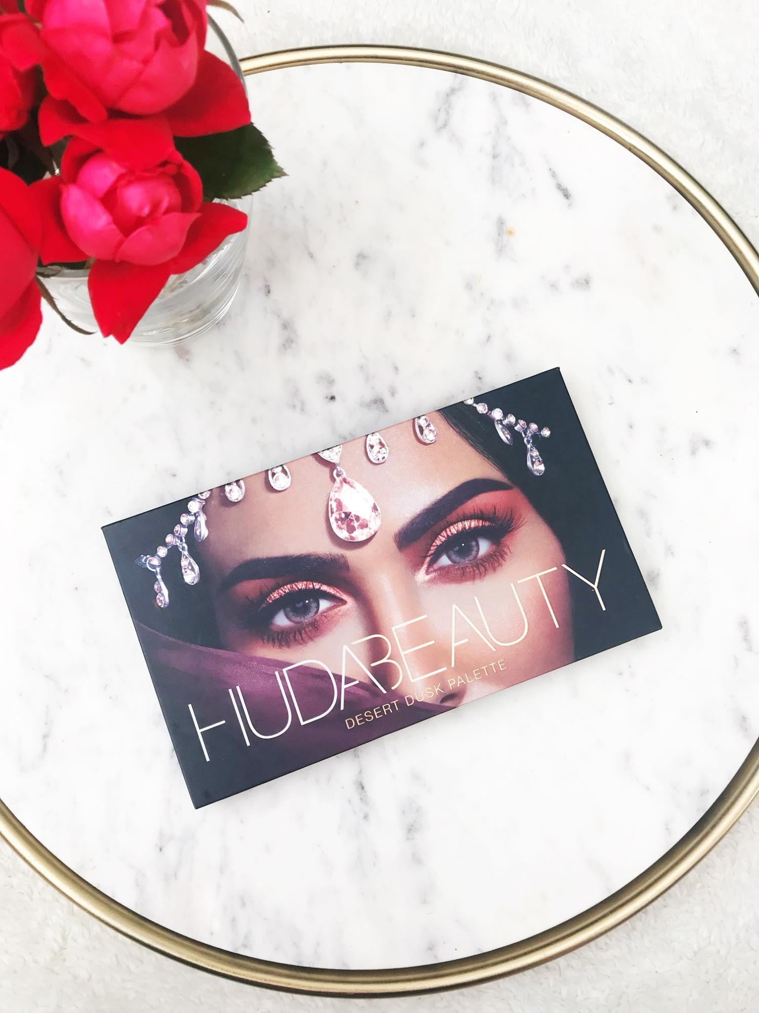 STH Huda Beauty Desert Dusk Palette Review + Swatches