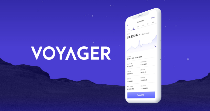 voyager crypto app ios android