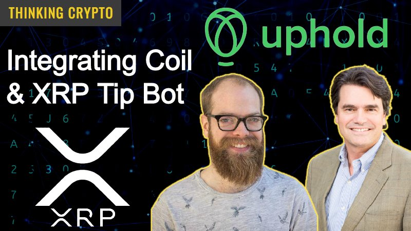 Uphold Coil XRP Tip Bot
