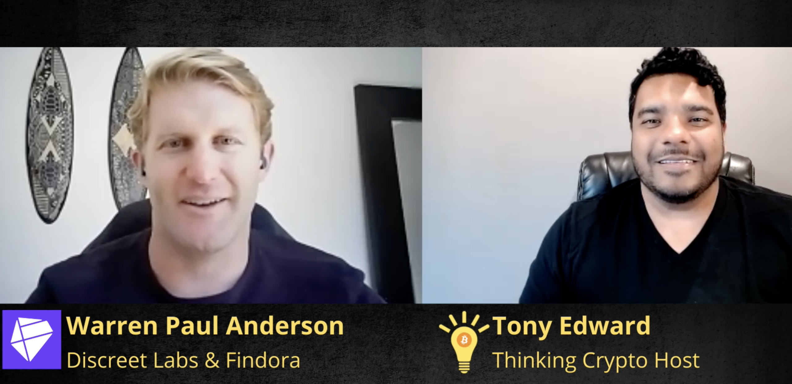 Warren Paul Anderson Interview – Discreet Labs, Findora, Privacy Blockchains, Ripple, XRP, Bitcoin