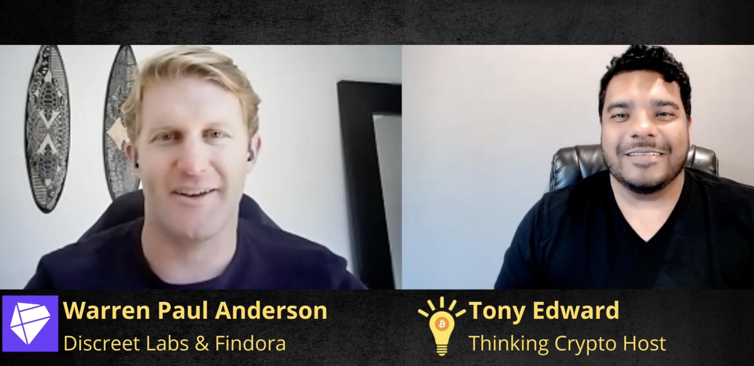 Warren Paul Anderson Interview