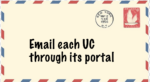 email each UC with grades