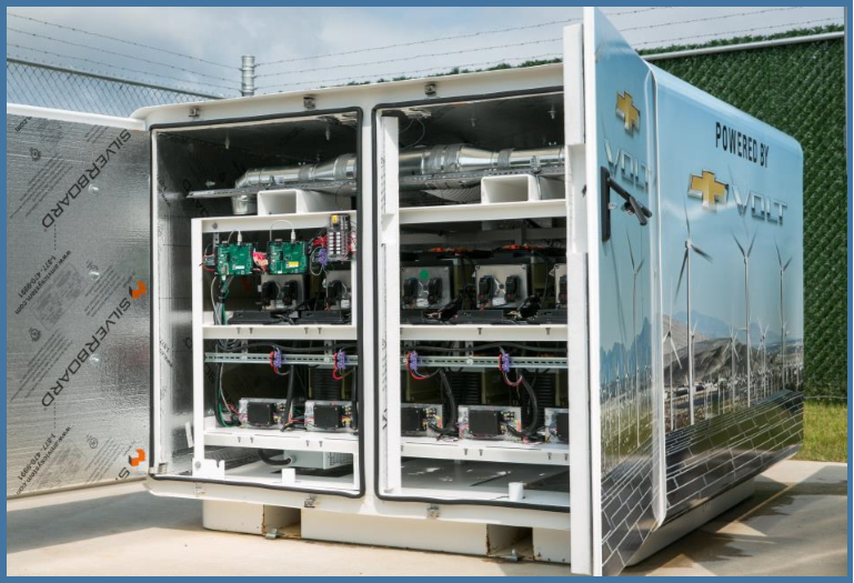 AutoInformed on Chevrolet Volt batteries for energy storage