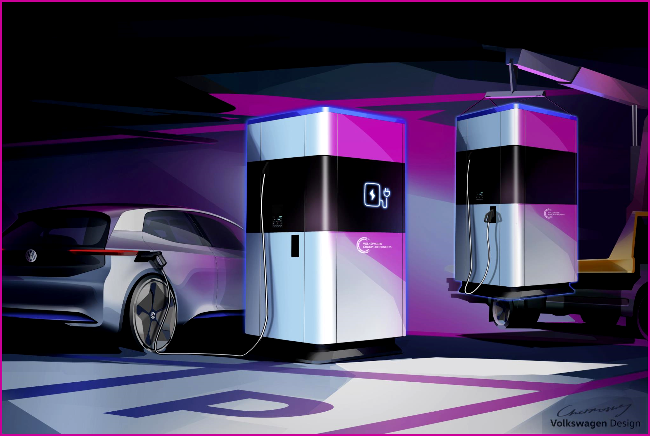 AutoInformed.com on Volkswagen Quick-Charging Station Concept