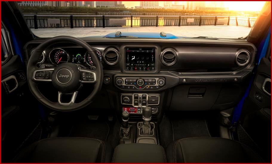 Ken Zino of AutoInformed.com on 2021 Jeep Wrangler Rubicon 470hp V8 Interior