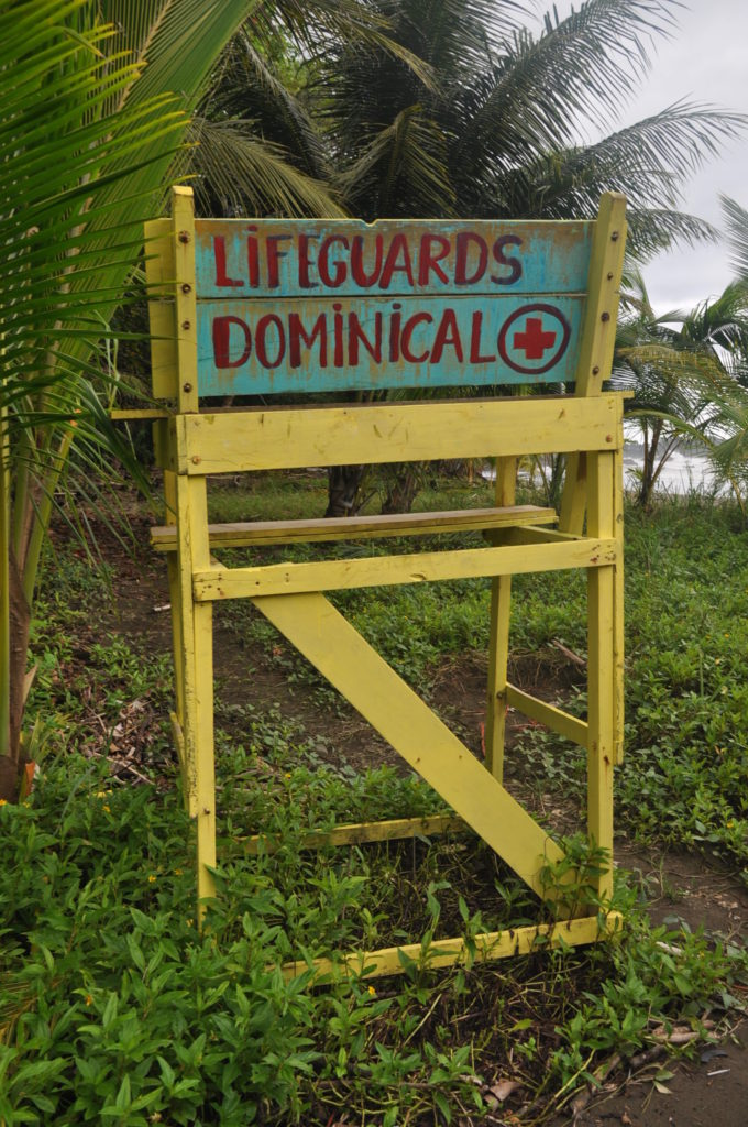 dominical costa rica lifeguards chair