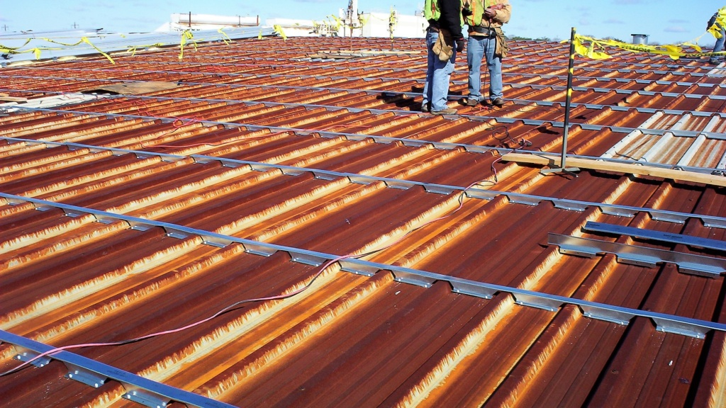 Roof Hugger Metal Roof Retrofit Rotator