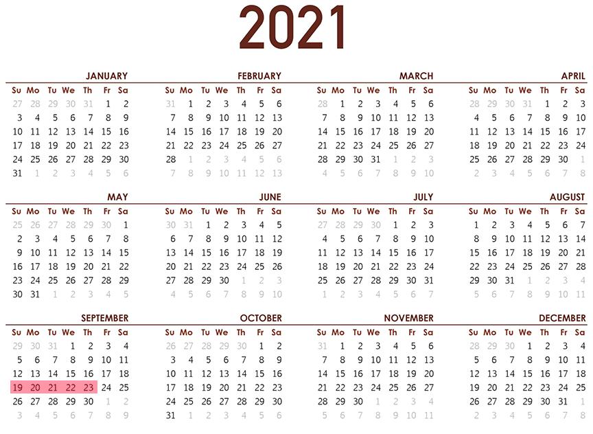 2021 Availability