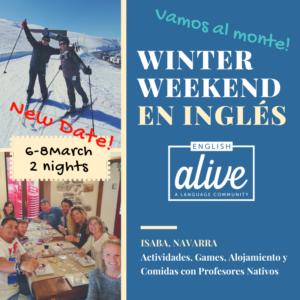 english alive ski trip