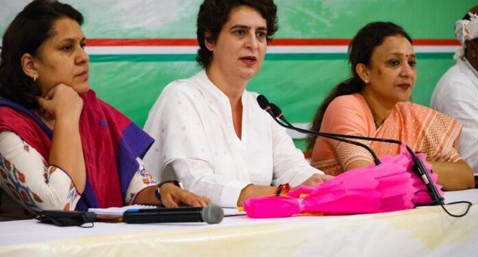 उत्तर प्रदेश विधानसभा चुनाव में 40 प्रतिशत टिकट महिलाओं को- प्रियंका गांधी वाड्रा