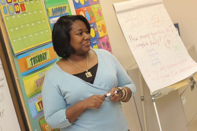 preschool teacher with CDA credential
