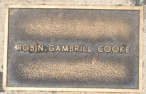 Cooke, Robin Gambrill