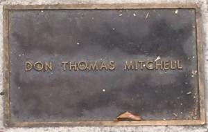 Mitchell, Don Thomas
