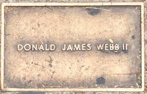 Webb, Donald James