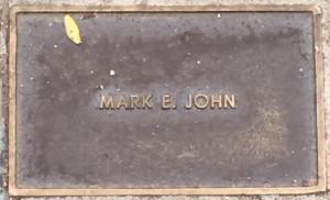 John, Mark E.
