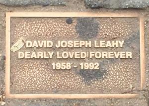 Leahy, David Joseph