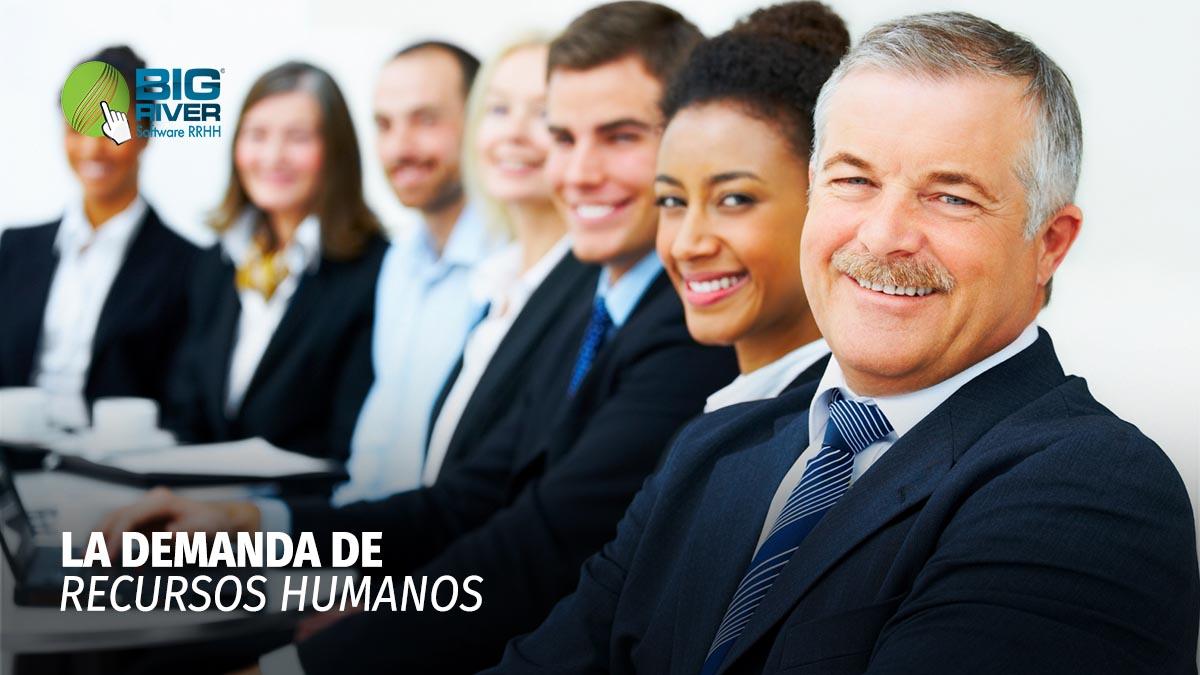 LA DEMANDA DE RECURSOS HUMANOS