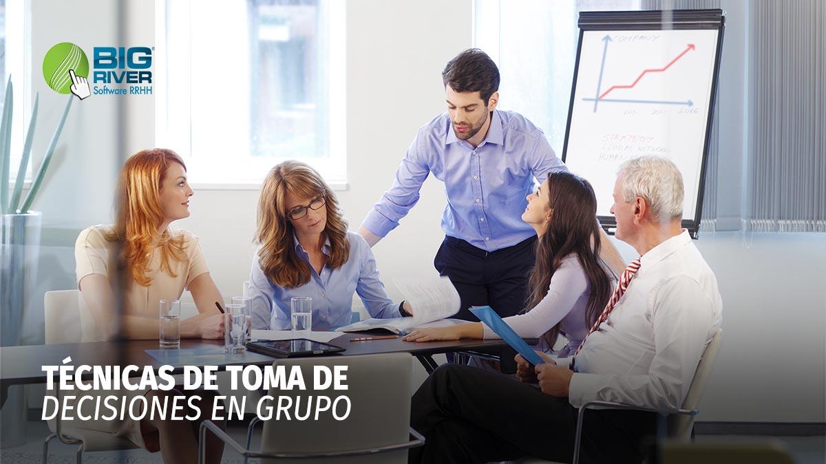 TÉCNICAS DE TOMA DE DECISIONES EN GRUPO