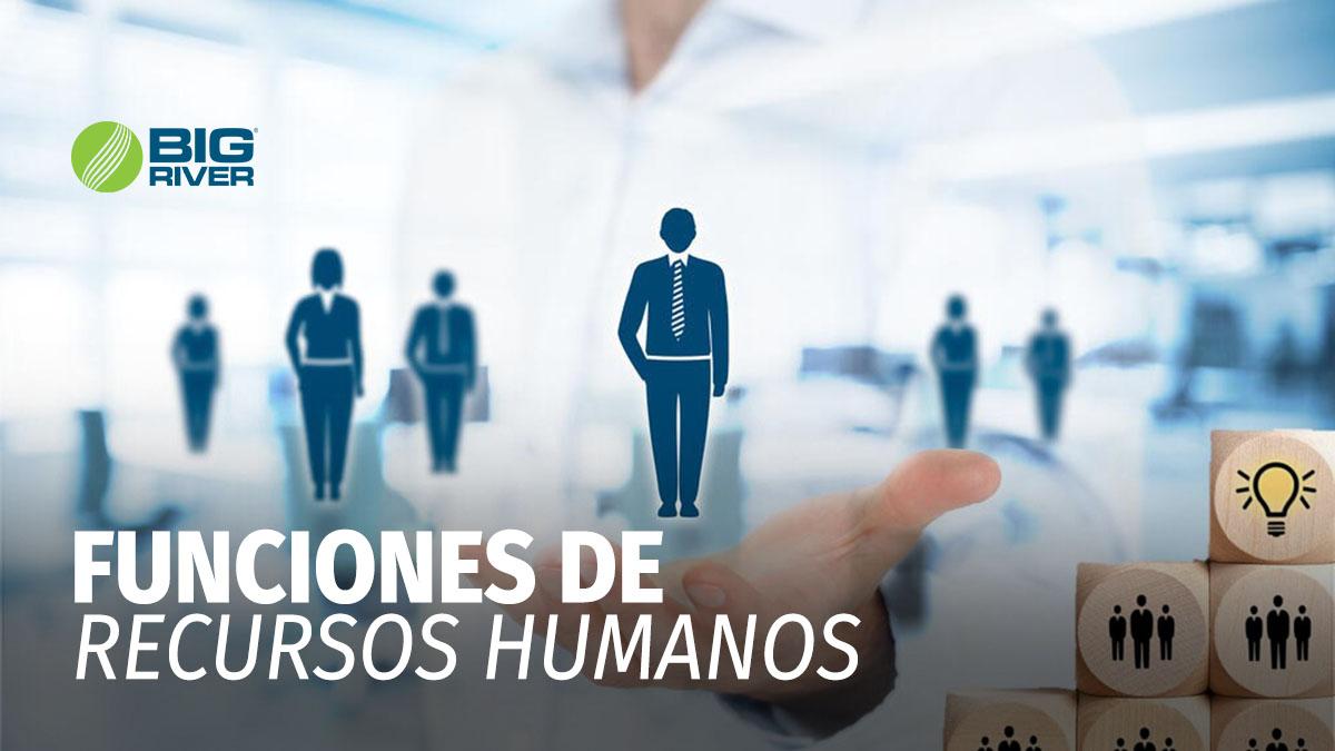 FUNCIONES DE RECURSOS HUMANOS