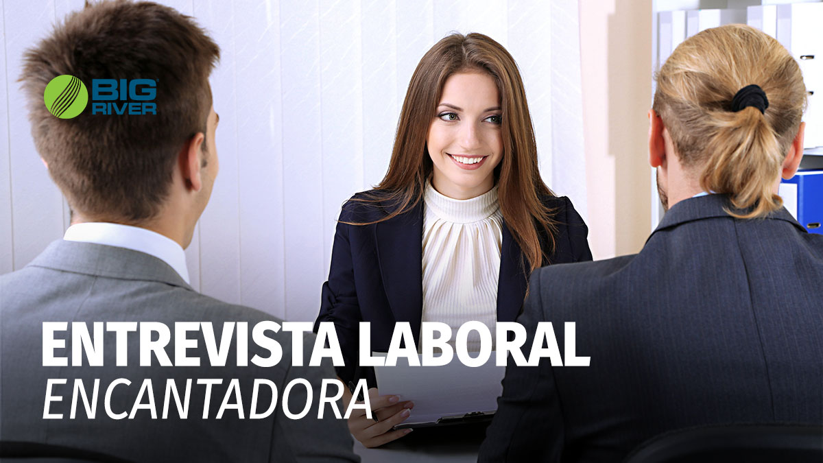 ENTREVISTA LABORAL ENCANTADORA