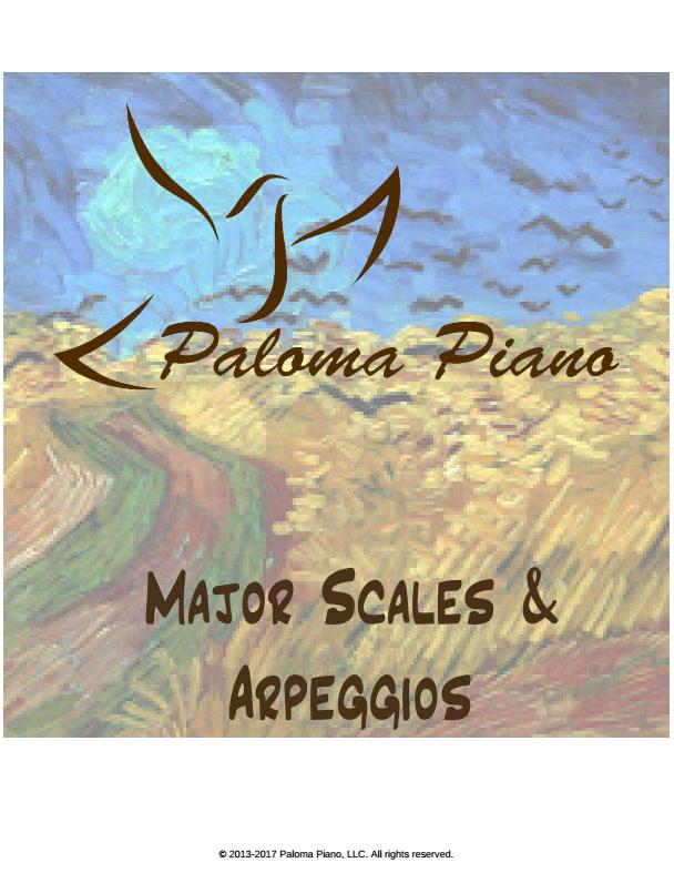 Major Scales and Arpeggios - Cover