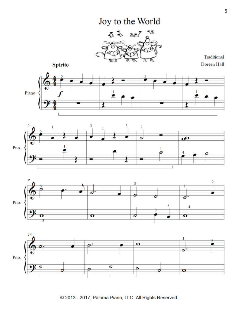 Paloma Piano - Christmas Collection - Volume 2 - Page 5