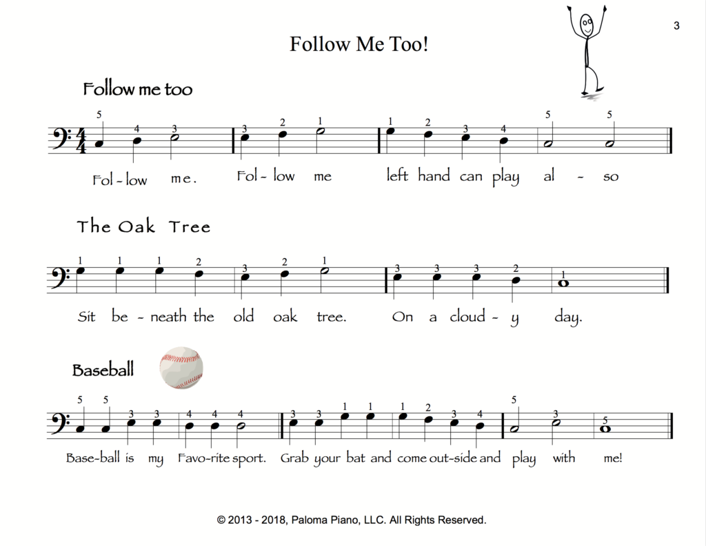 Paloma Piano - Follow Me Too - Page 3