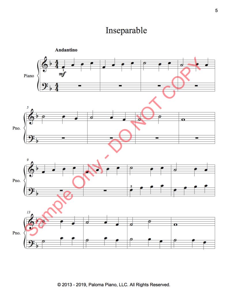 Paloma Piano - Three Easy Canons - Page 5
